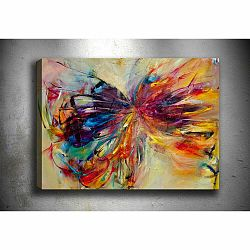 Obraz Tablo Center Butterfly, 60 × 40 cm