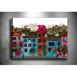 Obraz Tablo Center Colorful Houses, 60 × 40 cm