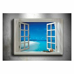 Obraz Tablo Center Open Window, 70 × 50 cm