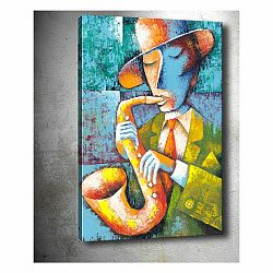 Obraz Tablo Center Saxophone, 50 × 70 cm